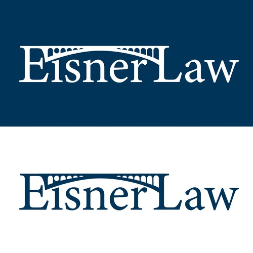 Logo design for Eisner Law firm.