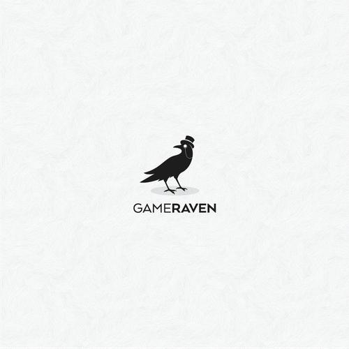 GameRaven Logo Design