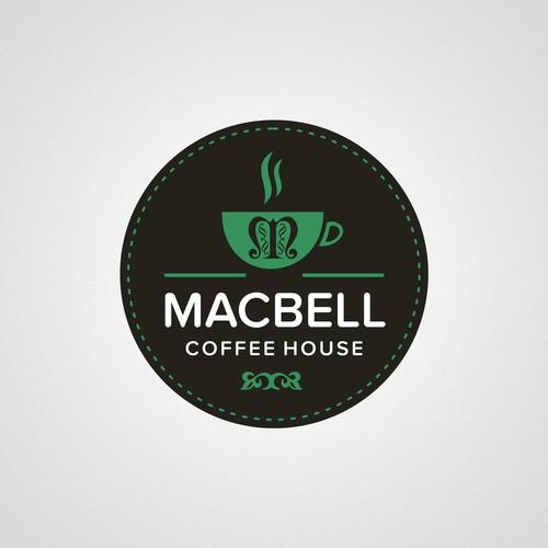 Create a drive thru cafe logo design