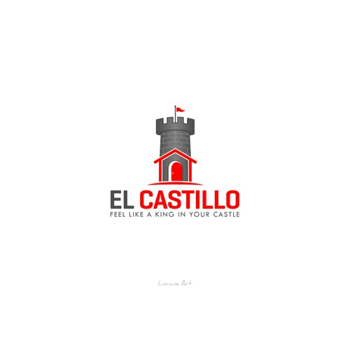 A uniqe logo of El Castillo