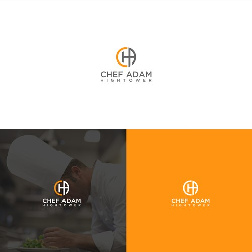 International executive chef branding his name... with a world class modern look that says luxury, refined, professional