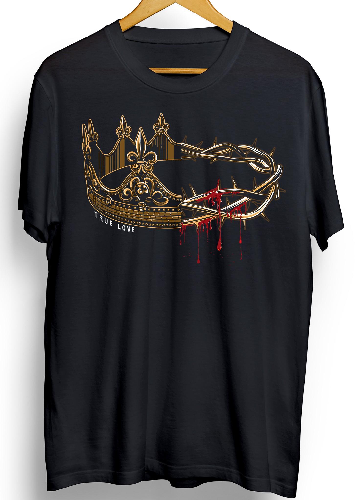 True Love Christian Shirt Design