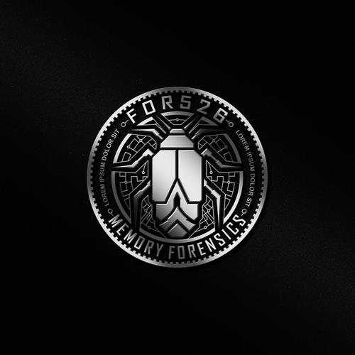 Logo design for For526 Memory Forensics.