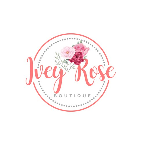 Ivey Rose watercolour