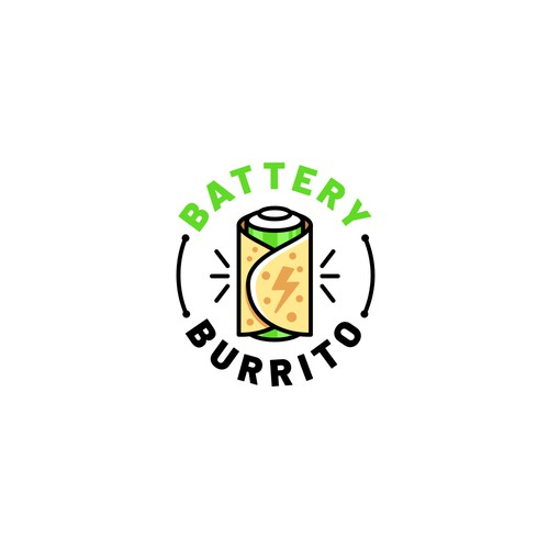 Logo for Battery Burrito