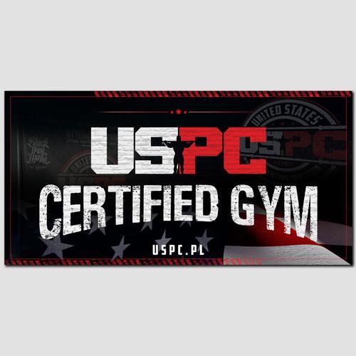 USPC Gym Banner Design