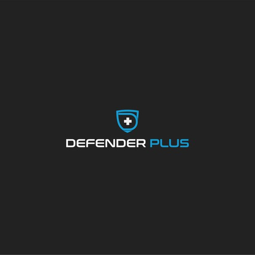 Logo concept for Defender Plus