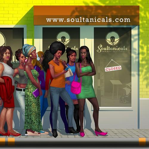 Soultanical website