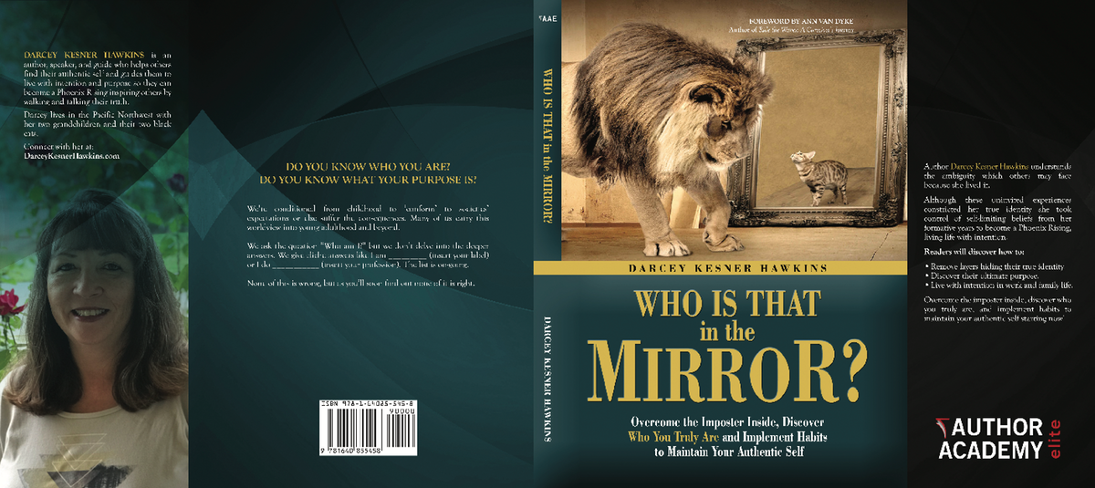 1:1 Project for Who is That in the Mirror? for Hardcover, ebook, and audiobook for $100.