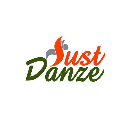logo concept for just danze