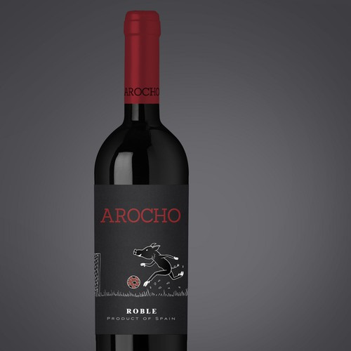 Arocho Wine Label Design
