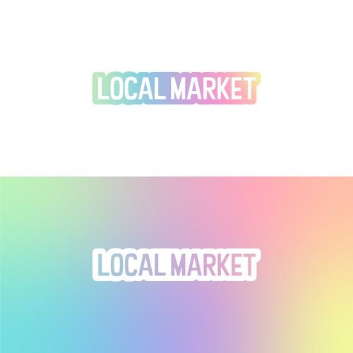 Local Market Logo Concept