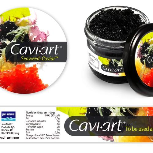 Cavi-art label