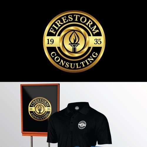 Design a logo for Firestorm Consulting, LLC