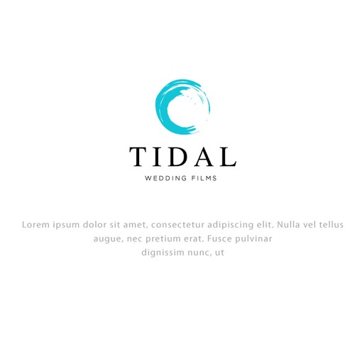 Logo design for TIDAL WEDDING FILMS