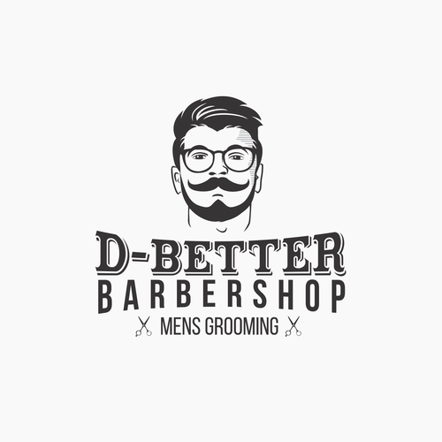 Logo for Modern Barbershop