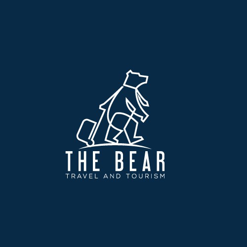 Minimalist Logo for a Travel Agency