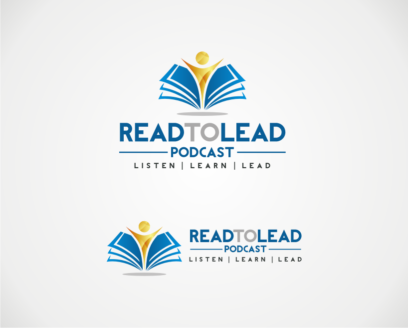 logo for The Read to Lead Podcast