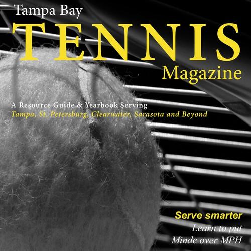 Tampa Bay Tennis Magazine Cover