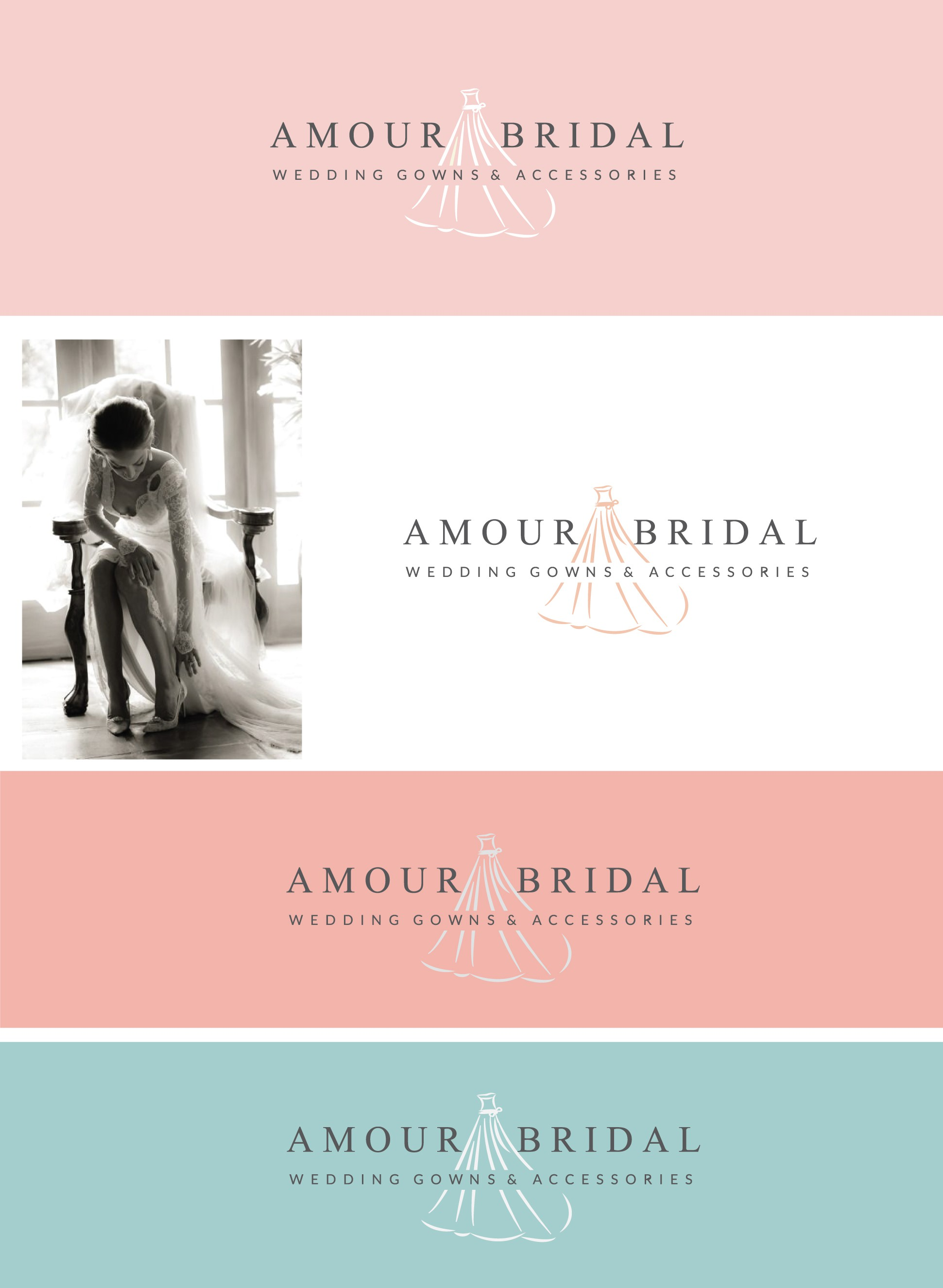 Help brides find the wedding dress of their dreams at Amour Bridal