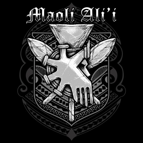 Maoli Ali'i  Hawaiian warriors Helmet