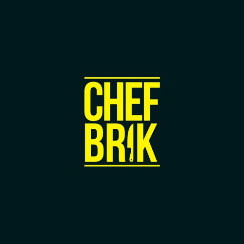 Logo proposal for CHEF BRICK
