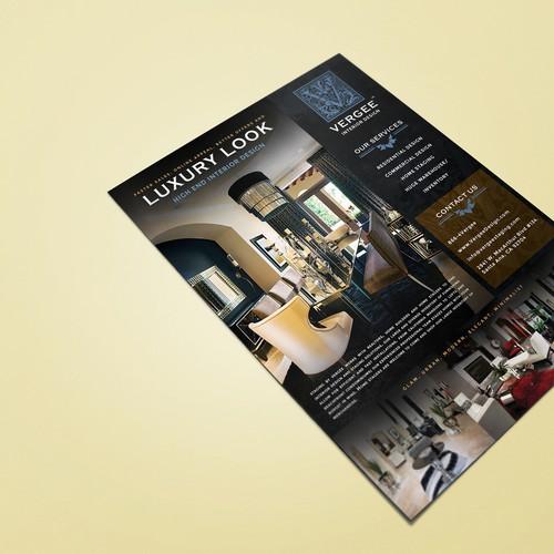 Vergee Interior Flyer