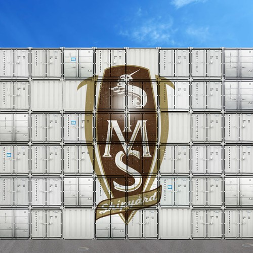 ABOX Storage Container Collage Art