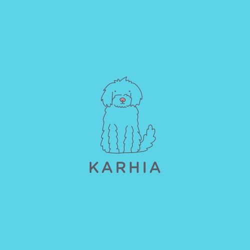 "Logo concept for ""KARHIA"""