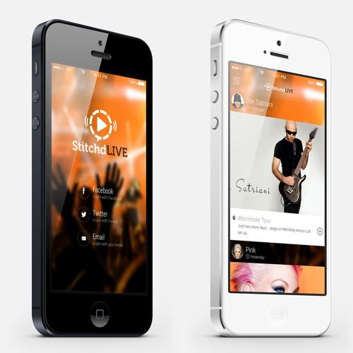 UX/UI Design for Multimedia App