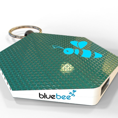 3D model and renders for a new version of a trending connected object Bluebee!
