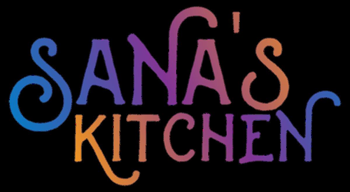 Sana's Kitchen Logo Design