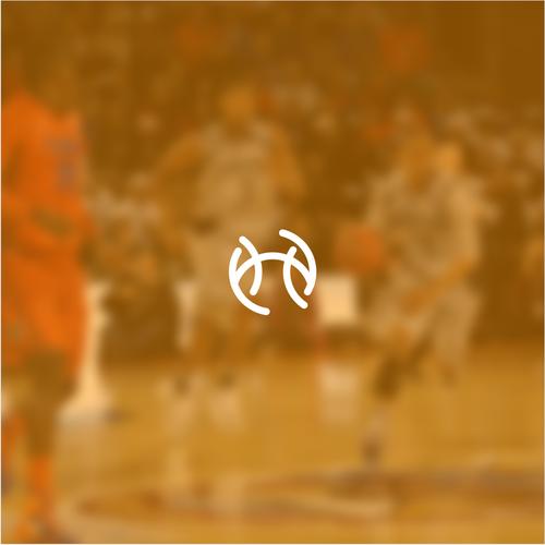 Bold monogram logo for Basketball Apparel