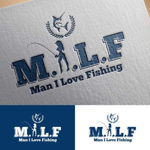 Bold Sexy Logo for M.I.L.F
