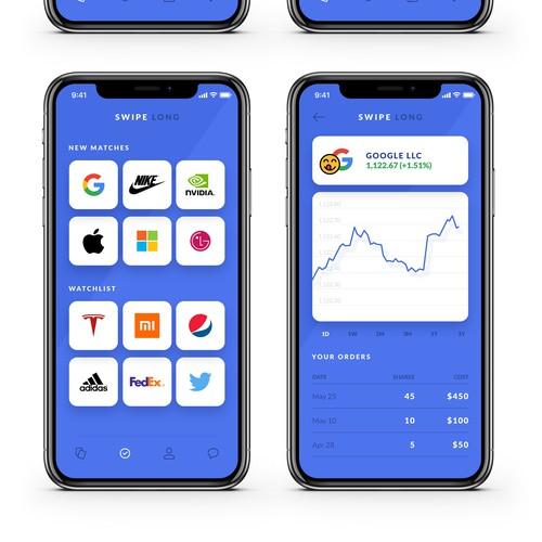 Trading App like Tinder