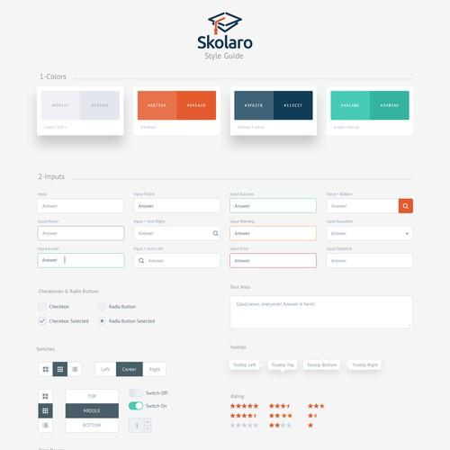 Skolara UI Style Guide