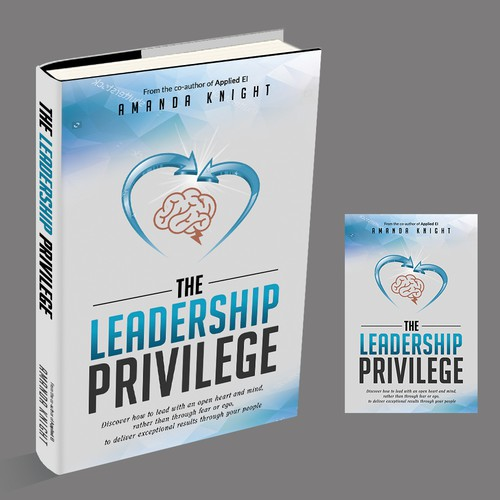 Design a book cover that will make business leaders want to read about how to become exceptional leaders