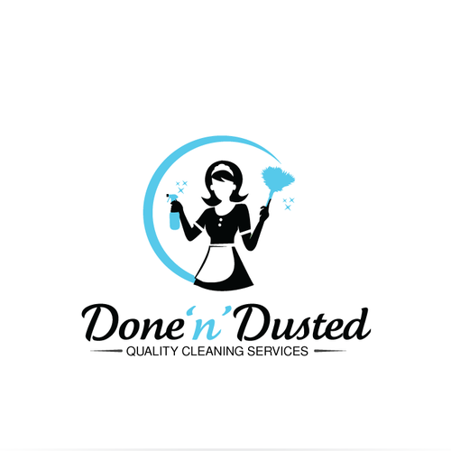 Done 'n' Dusted logo design