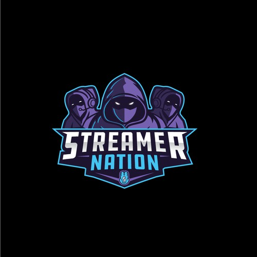 e-Sport logo for Streamer Nation