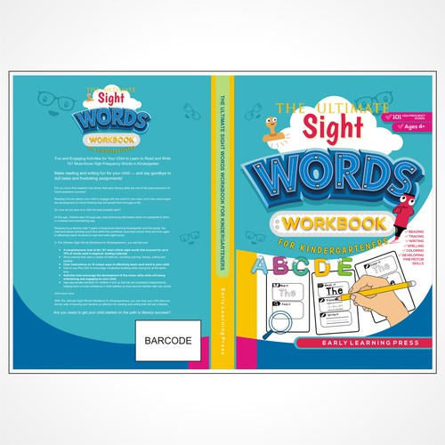 The Ultimate Sight Words Workbook for Kindergarteners