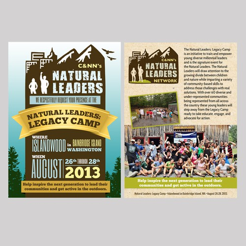 Natural Leaders Network  needs a new card or invitation