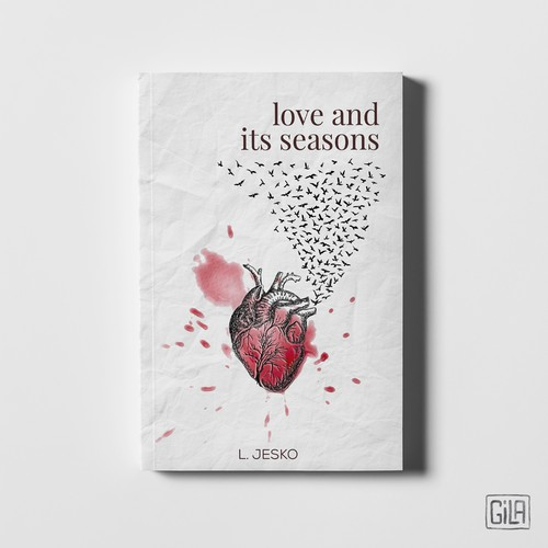Poetry cover, original illustration