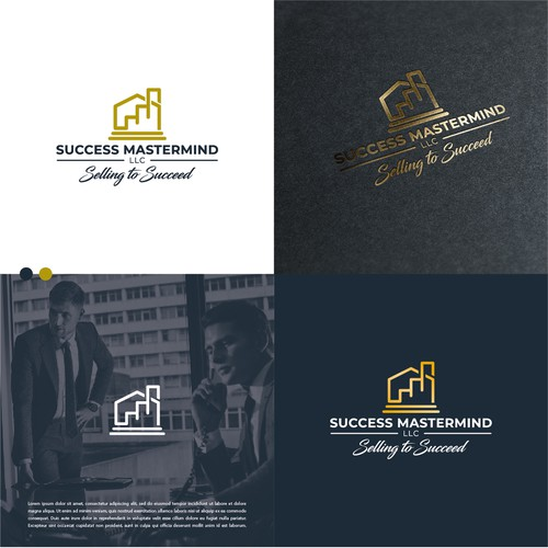 Logo to communicate money to be made in sales success