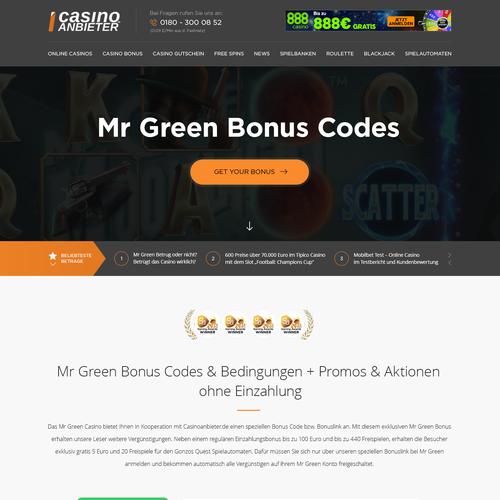 Casino Comparison Website