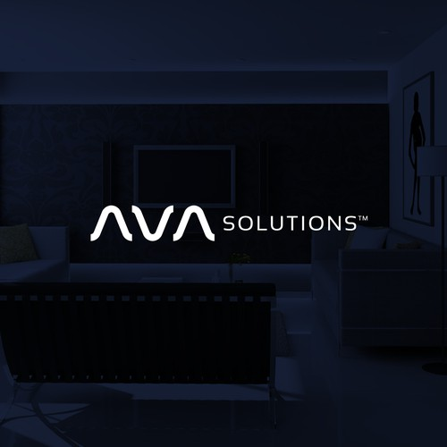 Logo concept for AVA Solutions