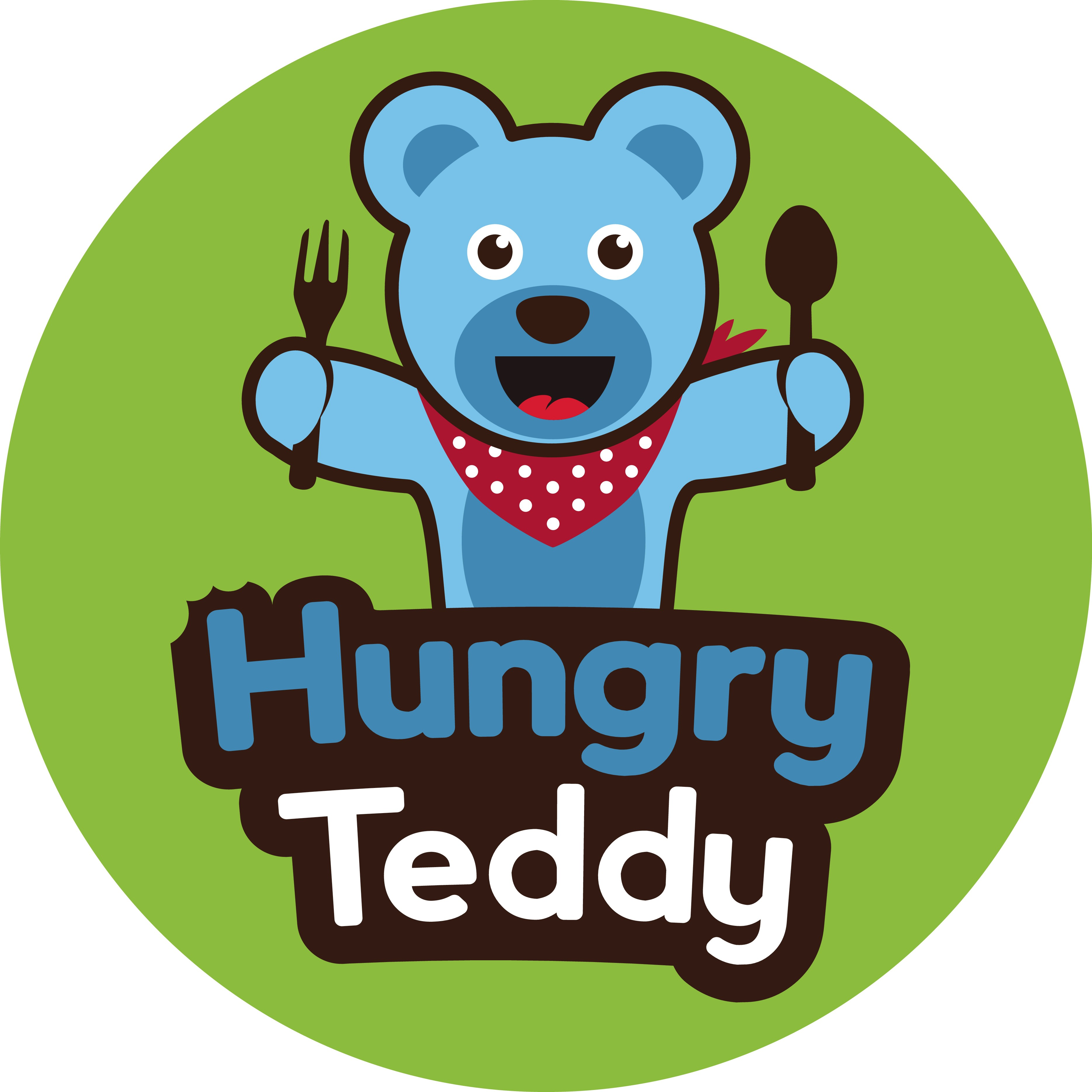 Create an attractive food portal, Hungry Teddy, for foodies
