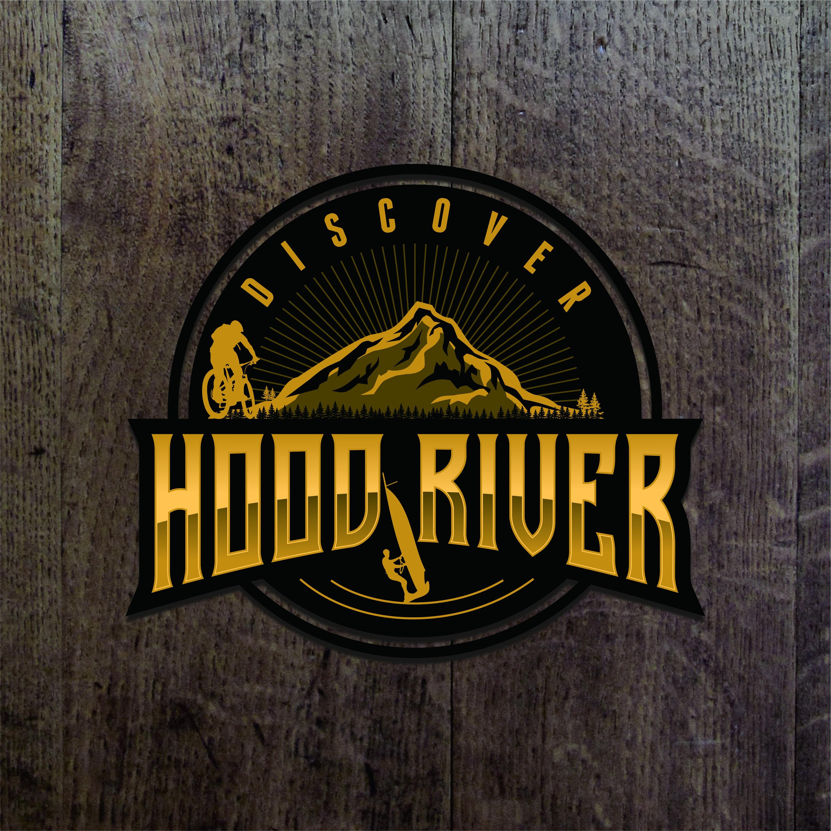 Discover Hood River Logo Design