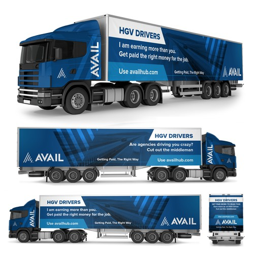 Lorry / Truck Wrap advertising