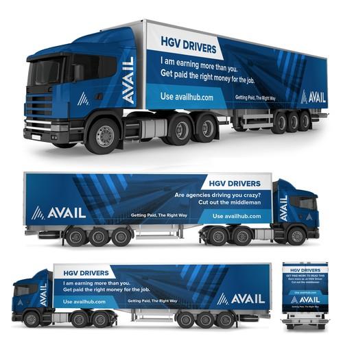 Lorry / Truck Wrap advertising