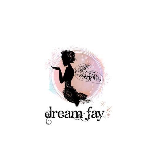 Logo for a writing site, a fairy..
